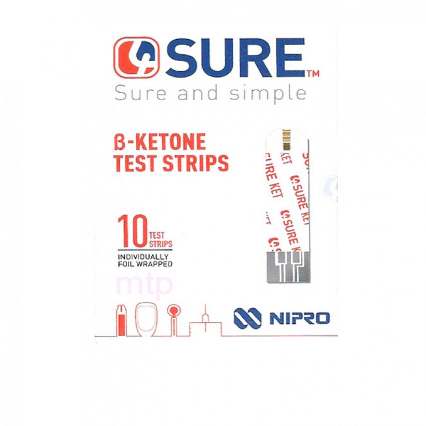 4Sure B-Ketone Test Strips 10