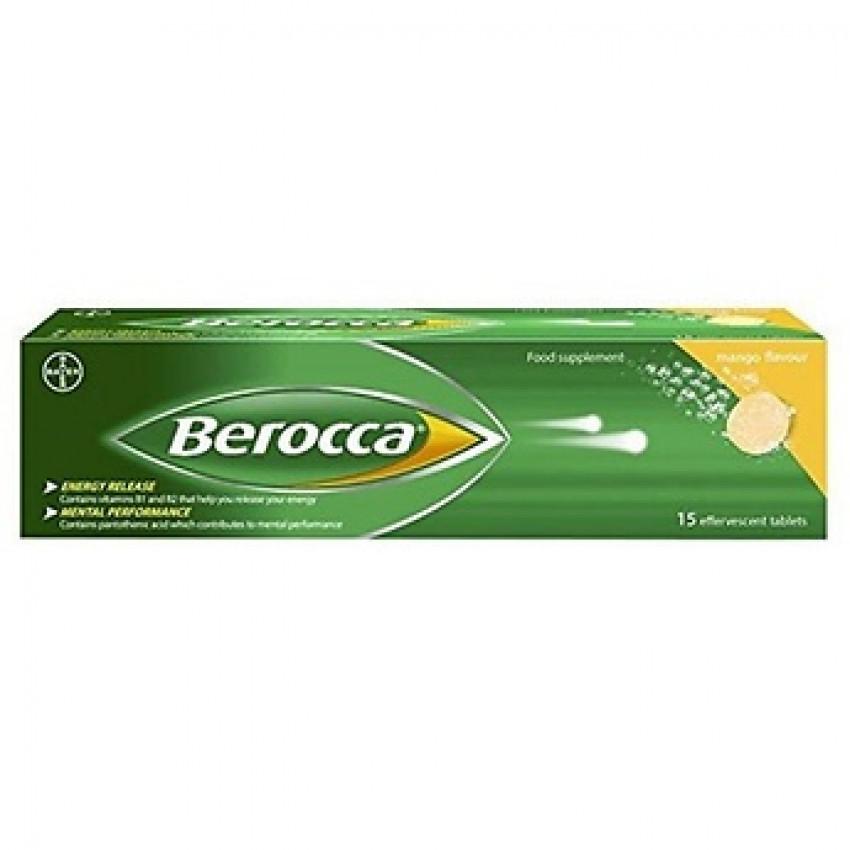 Berocca Mango Effervescent Tablets 15