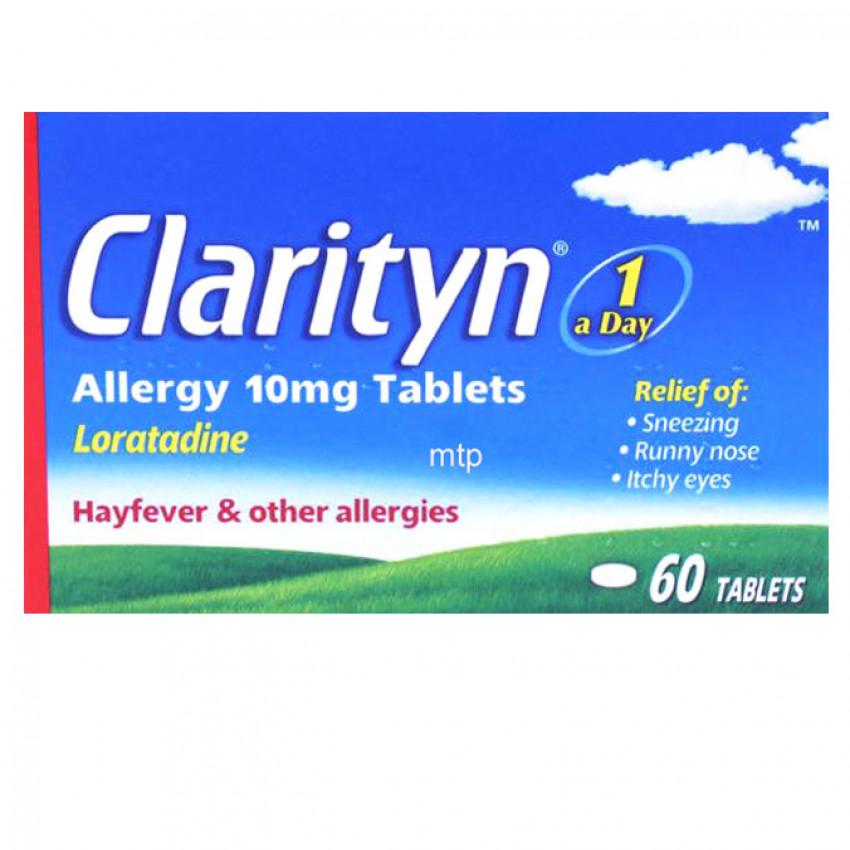 Clarityn Allergy 10mg Tablets 60