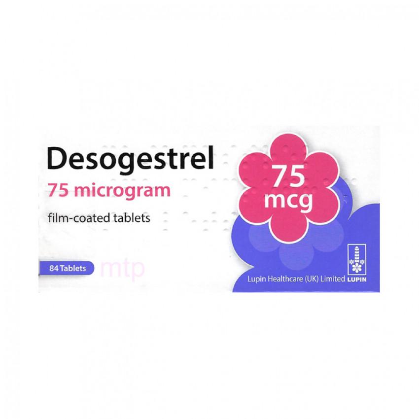 Desogestrel 75mcg Tablets 84 Pack