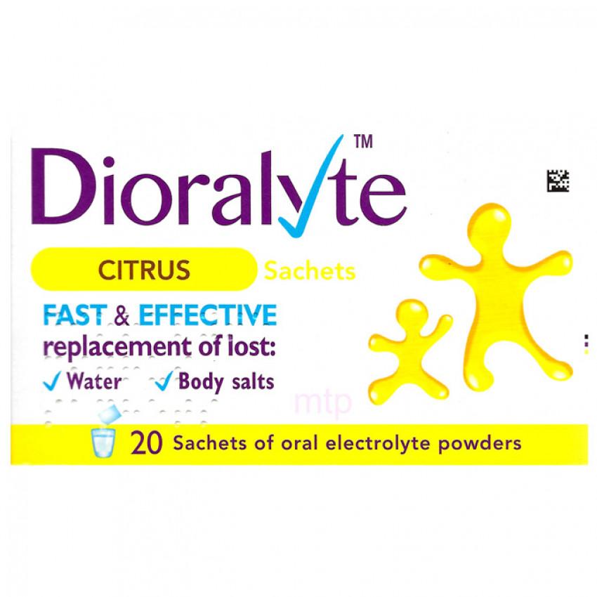 Dioralyte Citrus Sachets 20