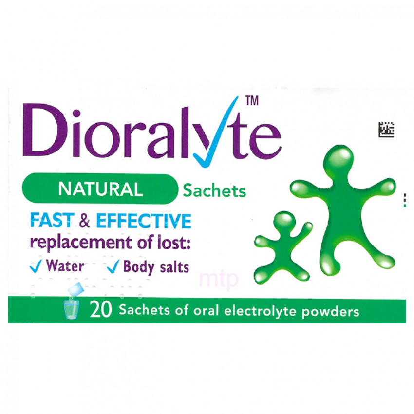 Dioralyte Plain Sachets 20