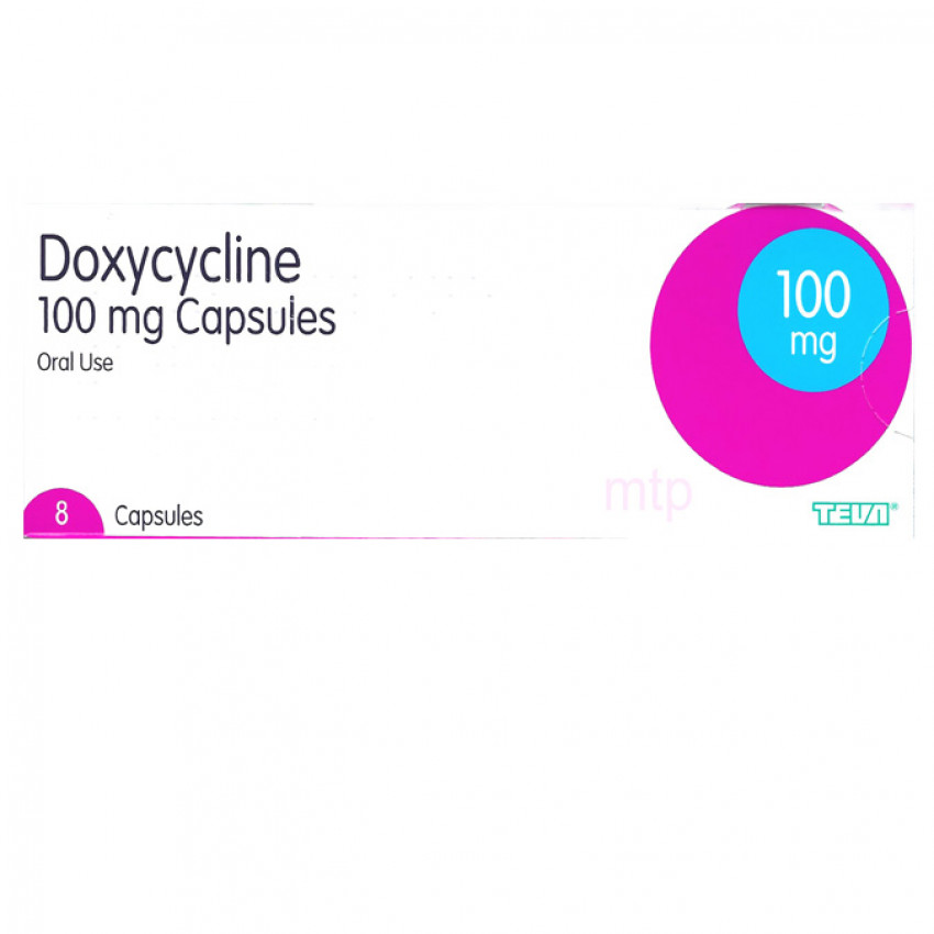 Doxycycline 100mg Capsule UK - 1