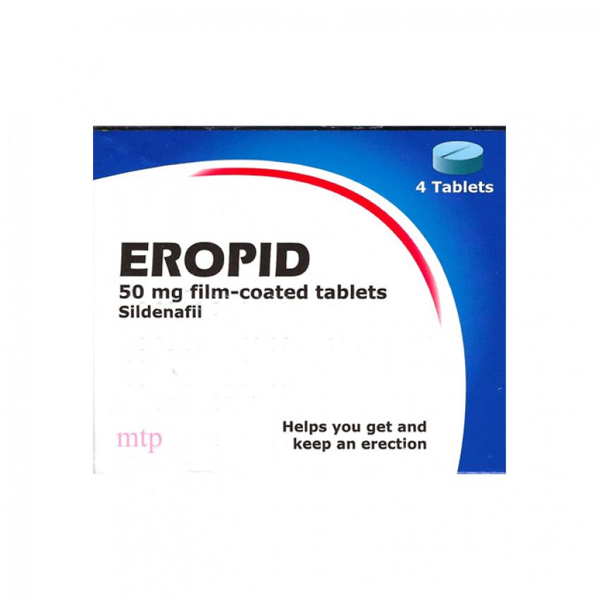 Eropid 50mg (Sildenafil) Tablets 4