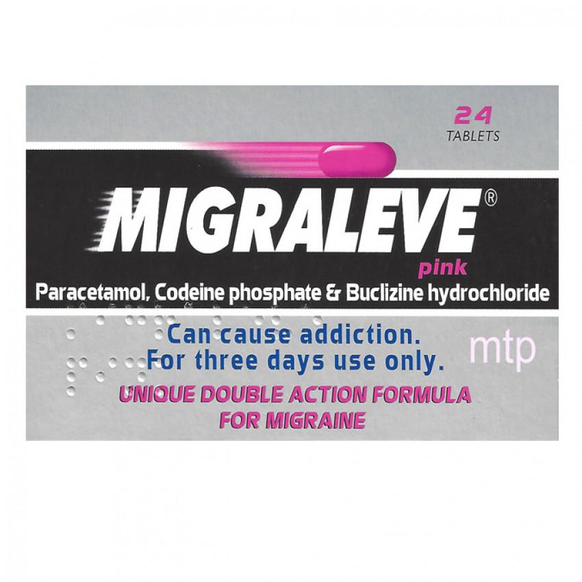 Migraleve Pink Tablets 24