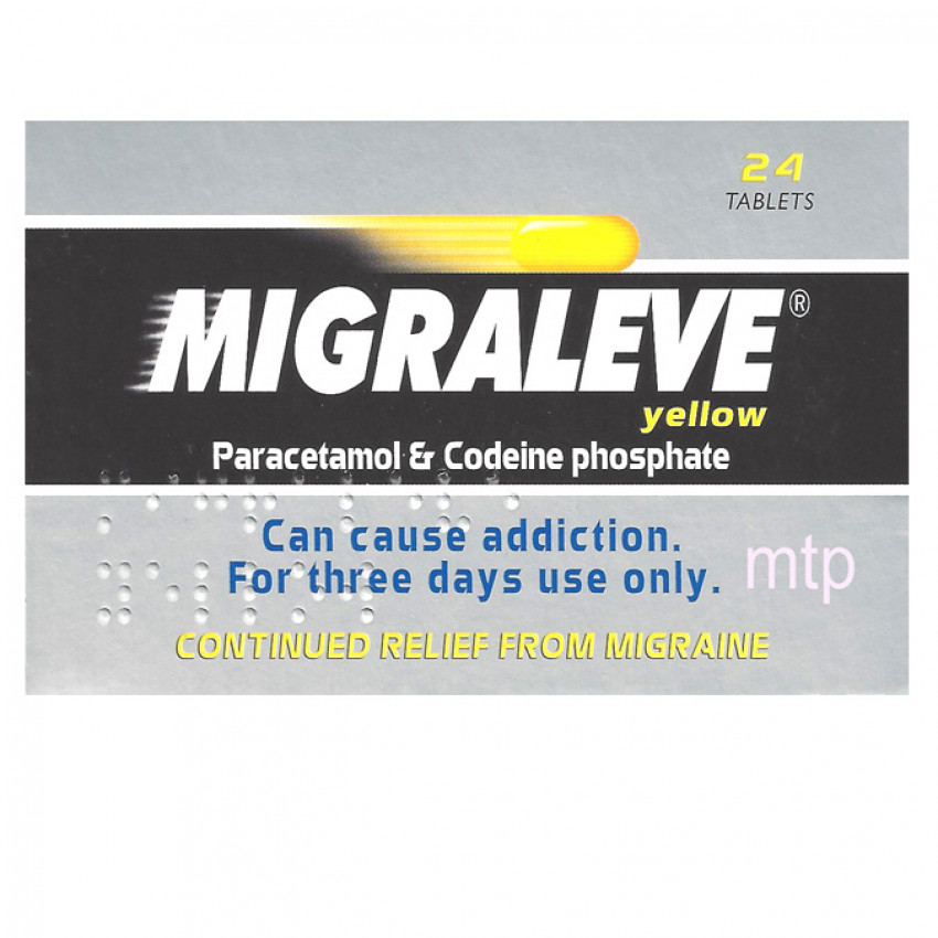 Migraleve Yellow Tablets 24