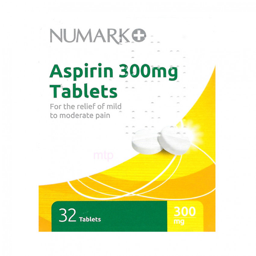 Numark Aspirin 300mg Tablets 32