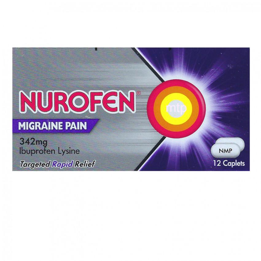 Nurofen Migraine Pain 342mg Tablets 12