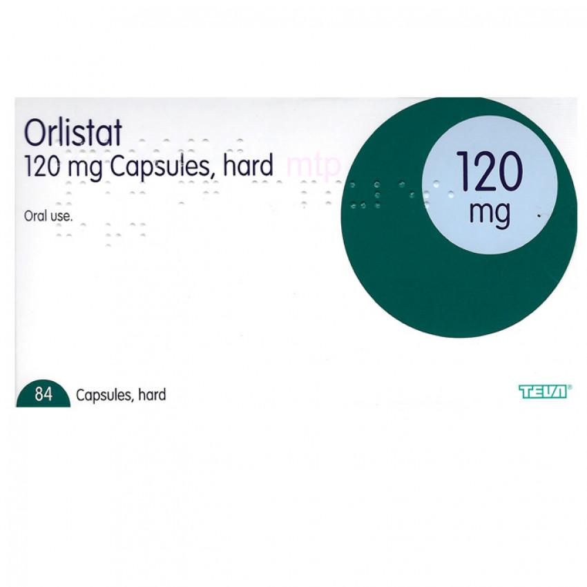 Orlistat 120mg Capsules (UK)