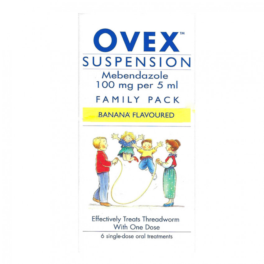 Ovex 100mg/5ml Suspension 30ml