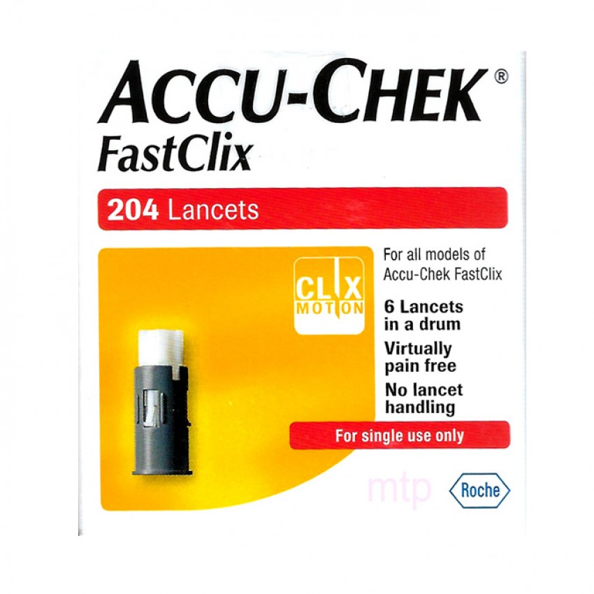 Accu-Chek Fastclix Lancets 204