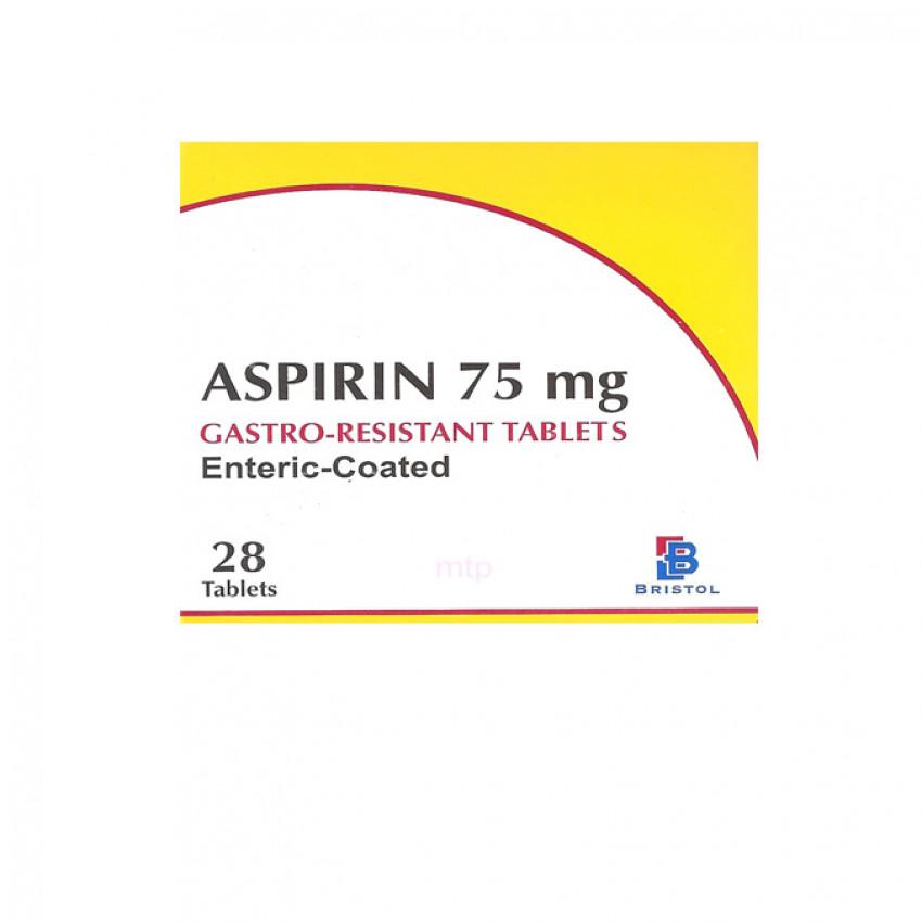 Aspirin 75mg EC Tablets 28