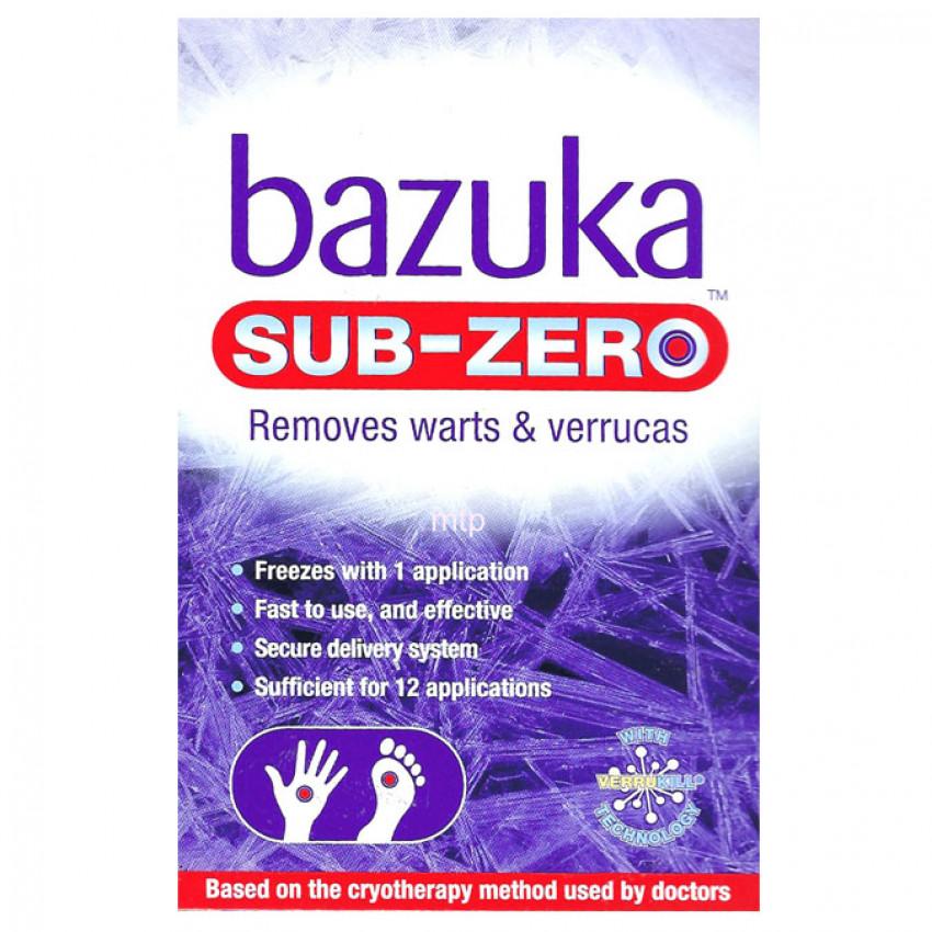 Bazuka Sub-Zero Freeze Treatment