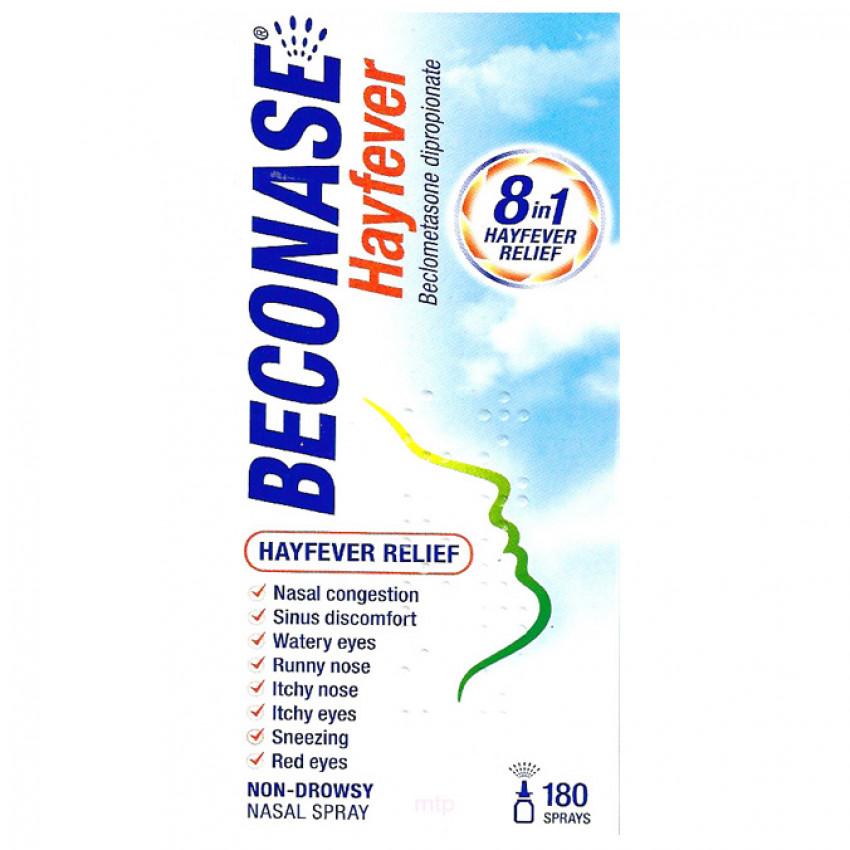 Beconase Hayfever Relief for Adults Nasal Spray (180 sprays)