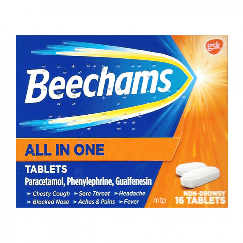 Beechams All In One Tablets 16