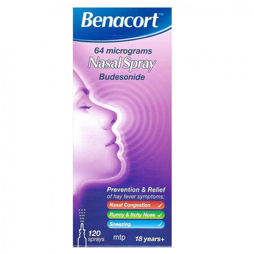 Benacort 64mcg Nasal Spray 10ml