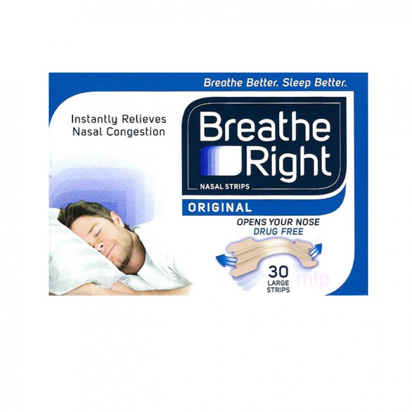 Breathe Right Nasal Strips Original Large 30