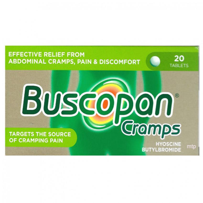 Buscopan Cramps Tablets 20