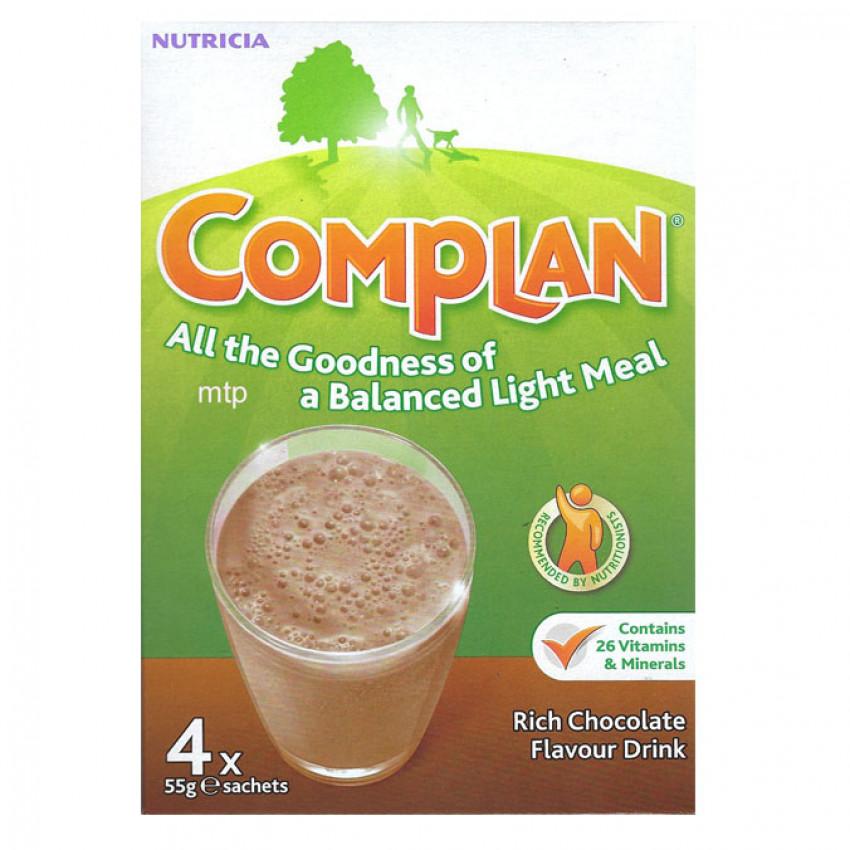 Complan Shake Chocolate 4 Sachets