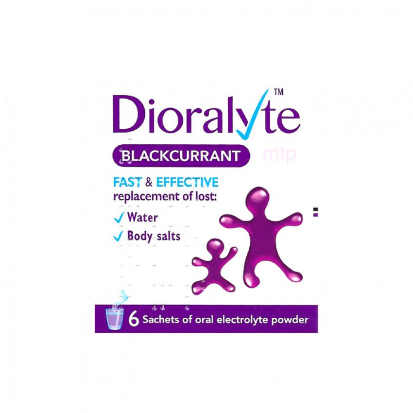 Dioralyte Blackcurrant Sachets 6