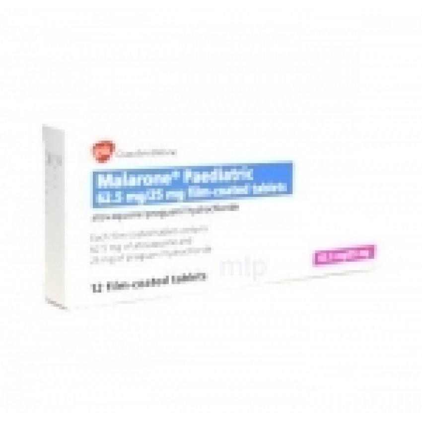 Malarone Paediatric Tablets (UK)