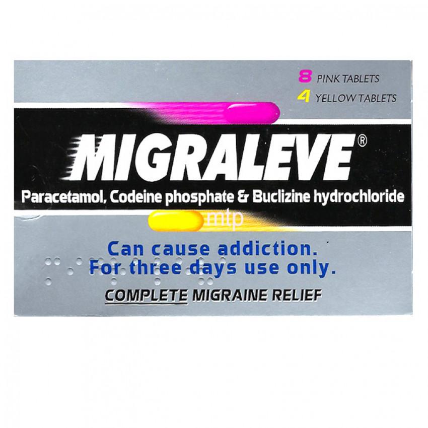 Migraleve Complete Migraine Relief Tablets 12