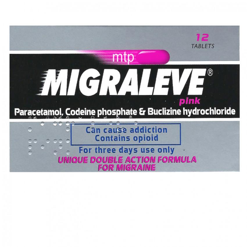 Migraleve Pink Tablets 12