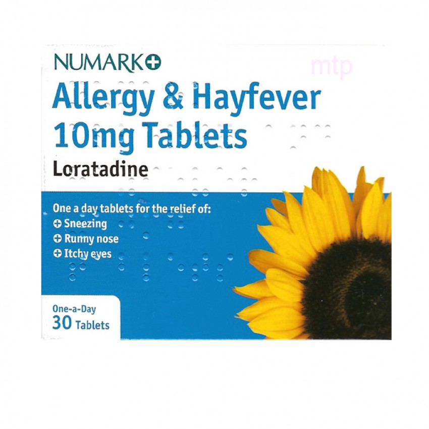 Numark Non-Drowsy Allergy Relief (Loratadine) Tablets 30