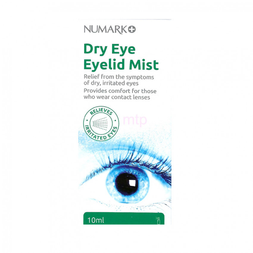 Numark Dry Eye Eyelid Mist 10ml