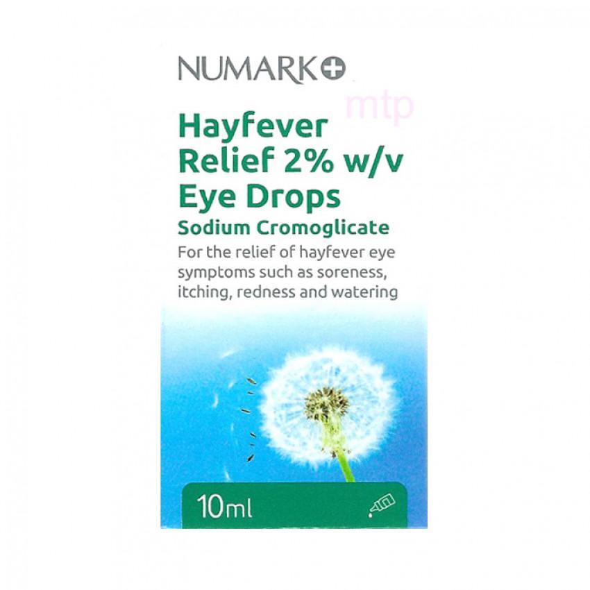 Numark Hayfever Relief Eye Drops 10ml