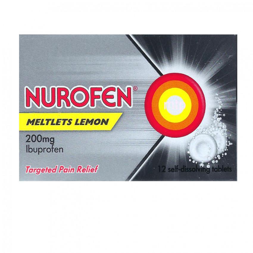 Nurofen Meltlets Lemon 12