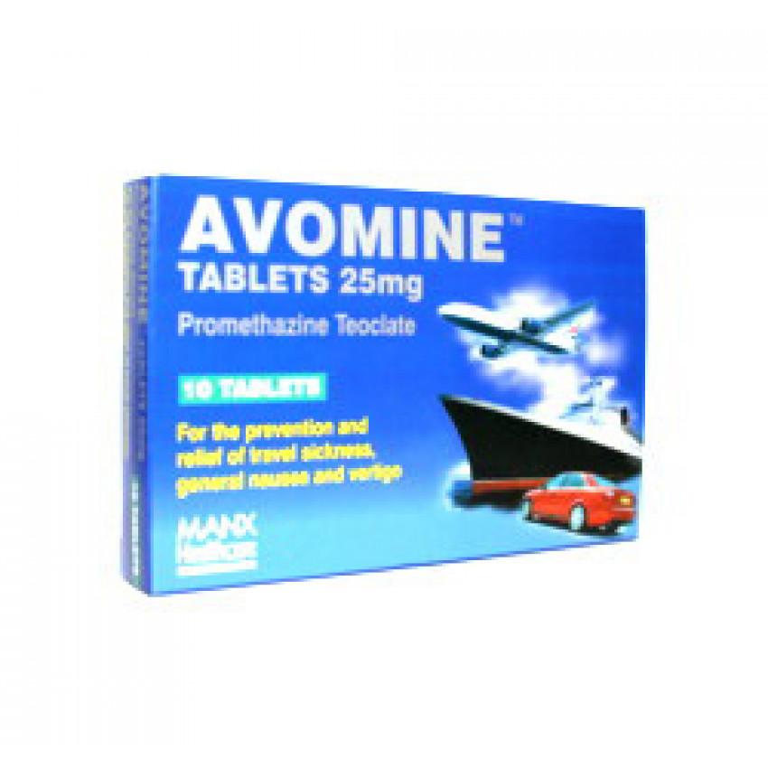 Avomine Tablets 25mg 10