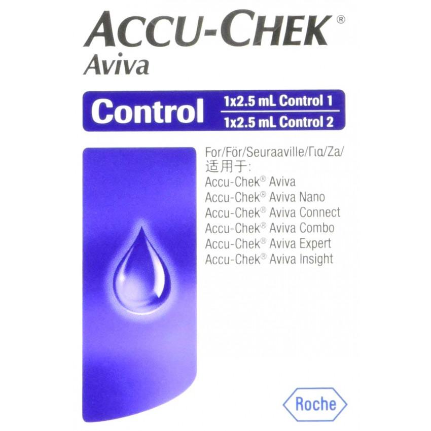 Accu-Chek Aviva Control Solution 2 x 2.5ml