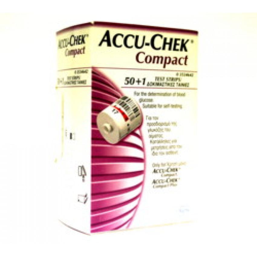 Accu-Chek Compact Test Strips 51