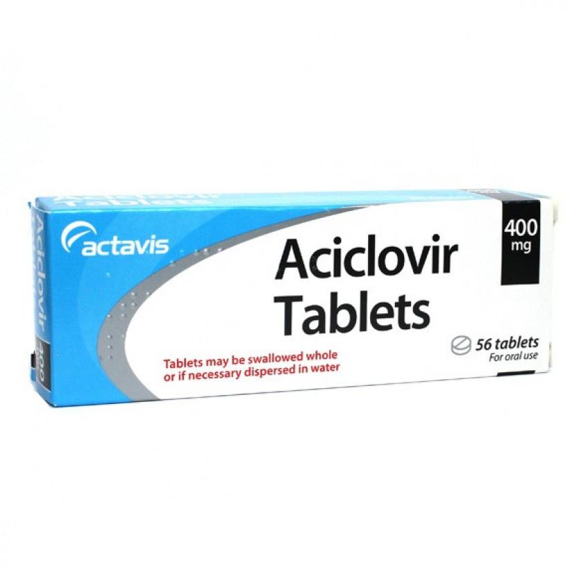 Aciclovir 400mg Dispersible Tablets 56