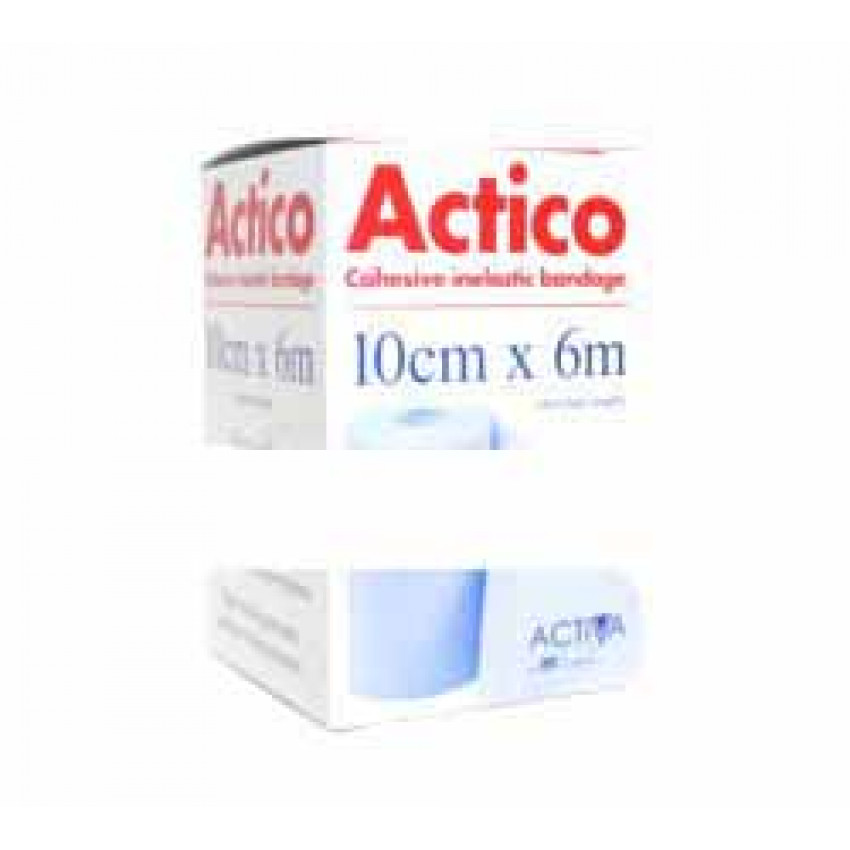 Actico Cohesive Inelastic Bandage 10cm x 6m