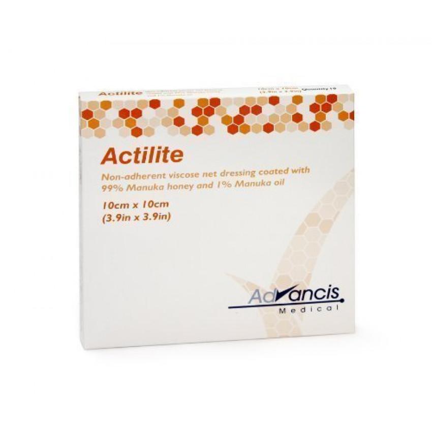 Actilite Manuka Honey Dressing 10cm x 10cm CR3849 Pack of 10