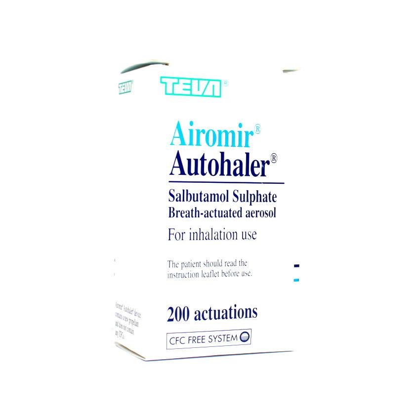 Airomir Autohaler 100mcg 200 dose UK