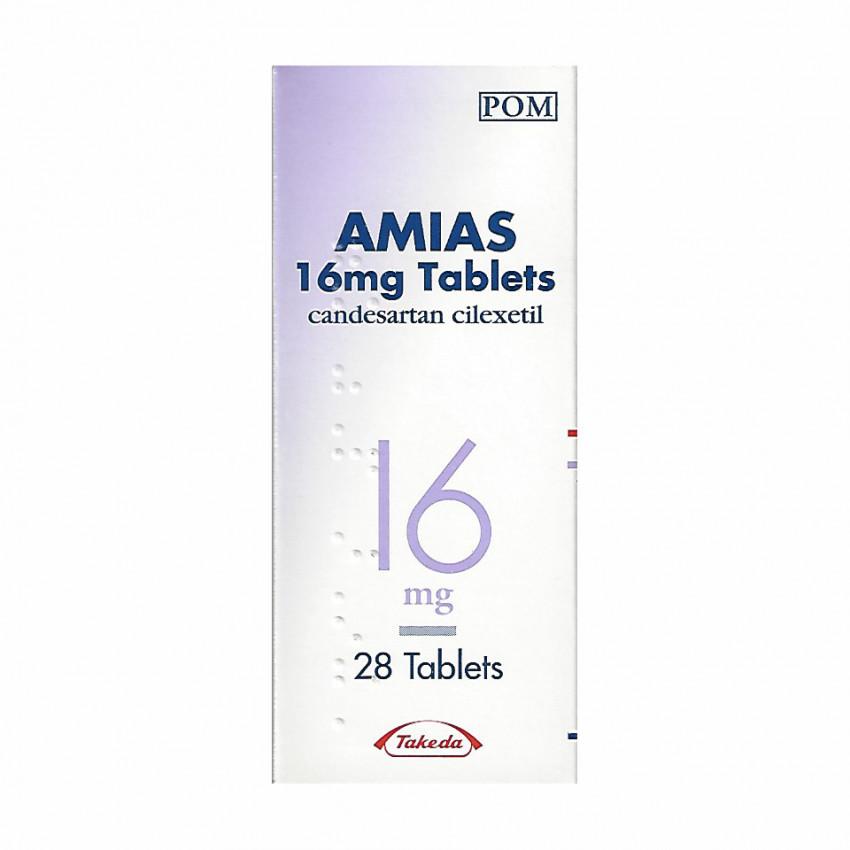 Amias (Candesartan) Tablets 16 mg 28 UK