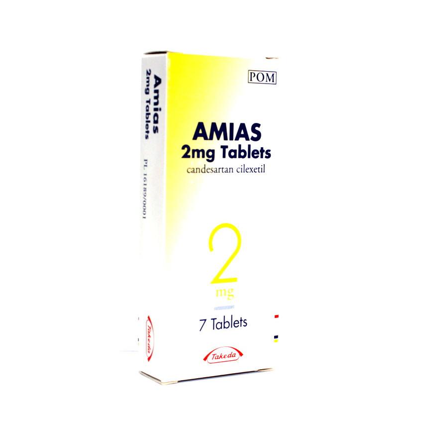 Amias 2mg Tablets 7 UK
