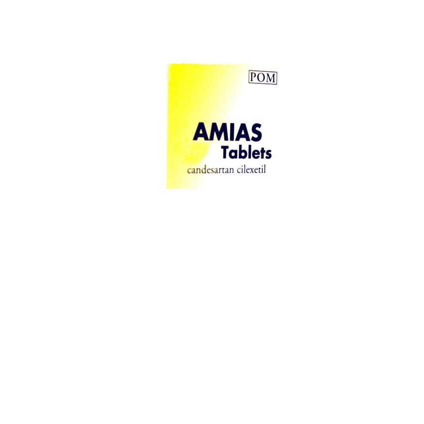 Amias (Candesartan) 8mg Tablets 28 UK
