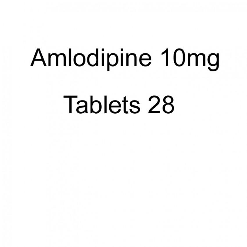 Amlodipine 10mg Tablets 28 UK