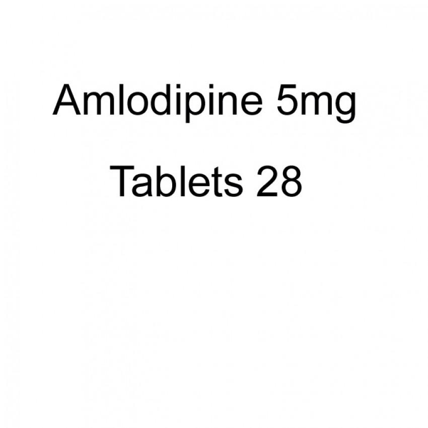 Amlodipine 5mg Tablets 28 UK