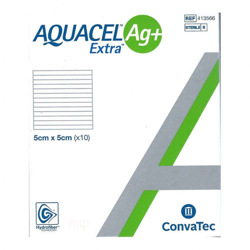 Aquacel Ag+ Extra Dressings 5cm x 5cm Pack of 10