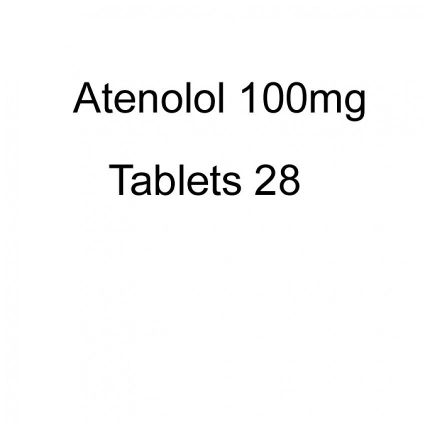 Atenolol 100mg Tablets 28 UK