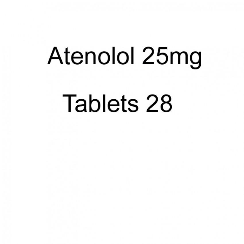 Atenolol 25mg Tablets 28 UK