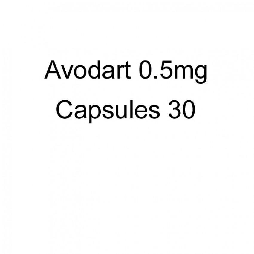 Avodart (Dutasteride) 0.5mg Capsules 30