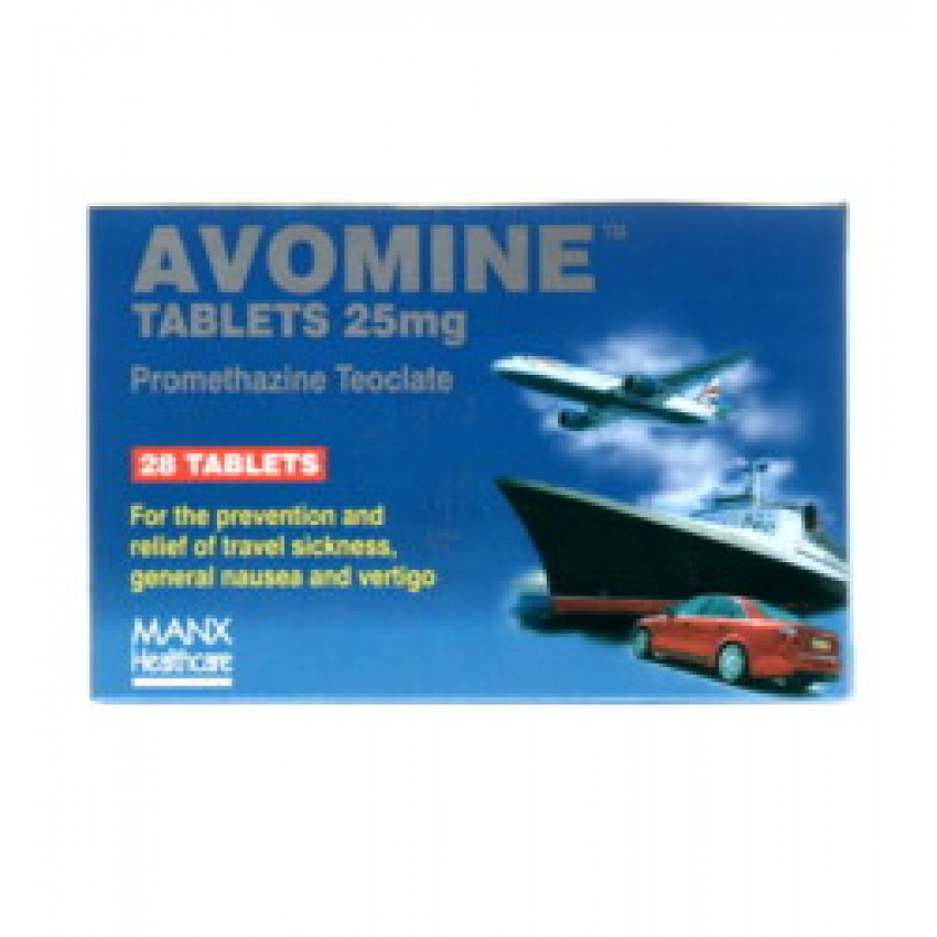 Avomine Tablets 25mg 28