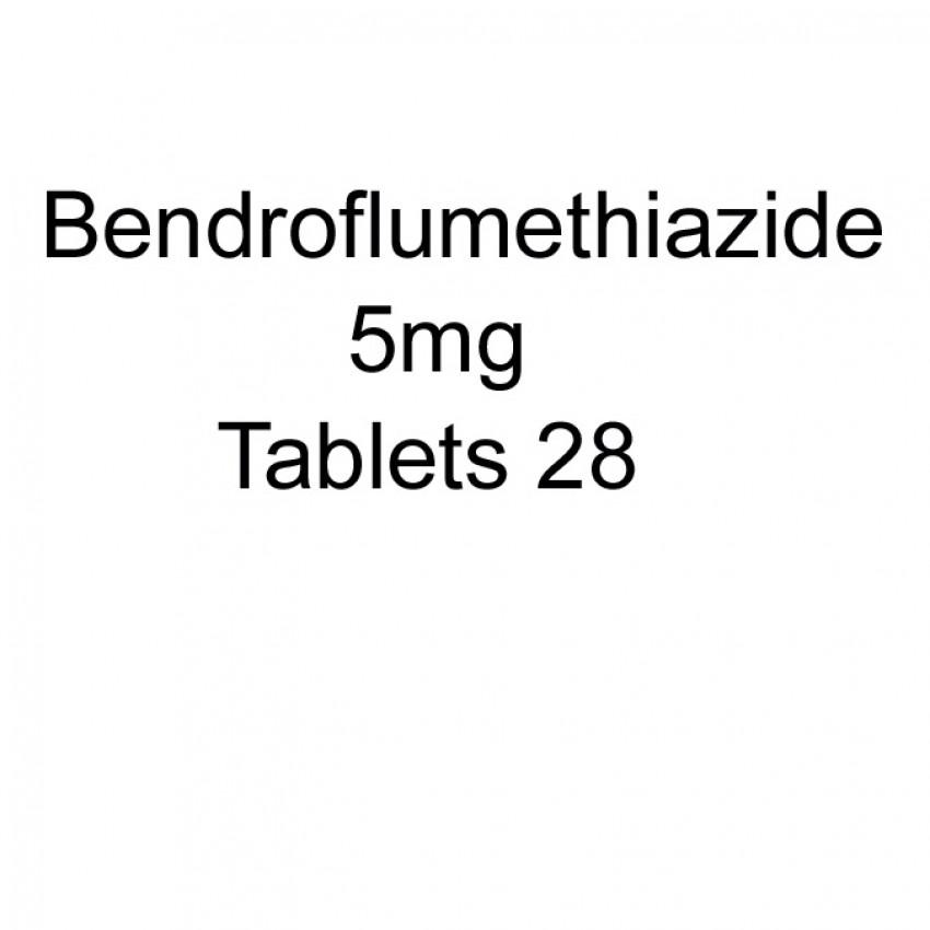 Bendroflumethiazide 5mg Tablets 28 UK