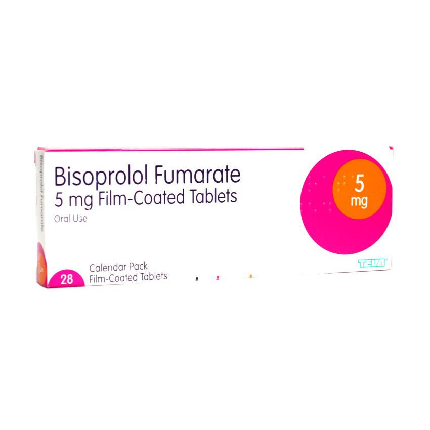 Bisoprolol 5mg Tablets 28 UK